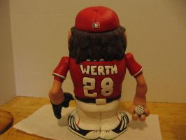 Jayson Werth Potatohead Back view by Potatoheadmaster