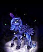 Return to us, Nightmare Moon by ElectricHalo