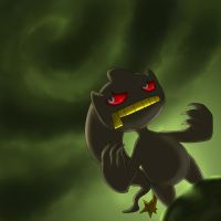 Banette Used Thunderbolt by Robo-Shark