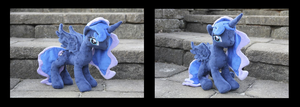 Season 2 Princess Luna Plushie by ReversingTragedy