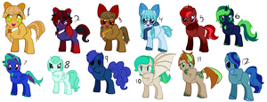 Offer to adopt - Pony adoptables by dragonsweater