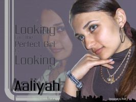 Aaliyah the perfect by wildwoolfy