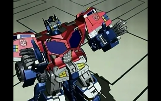 Optimus has six fingers by Robotponytron