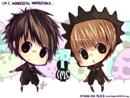 Chibi Wonderful Wonderholics by Kaiami