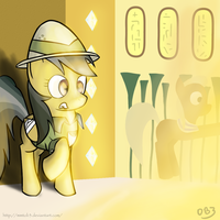 Daring Do and the Cursed Tombstone by mmtOB3