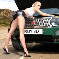 Give It A Try Now Mr Roy! by Roy3D