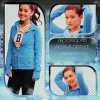 Photopacks Ariana Grande Png's by JenniferBomerGrey