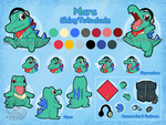 Reference - Marc the Totodile by Veemonsito