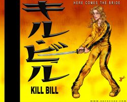 Kill Bill Desktop 1: The Bride by HecM