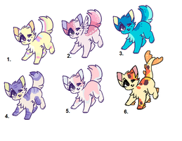Cat Adoptables (closed) by hoIiday