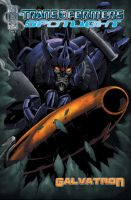 IDW Spotlight: GALVATRON Cover by GuidoGuidi