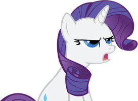 Rarity - Complaining by Maco25