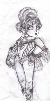 Victorian Circus Midget by UnderCoverCottonswab