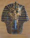 Tutankhamun Mask by suedawe