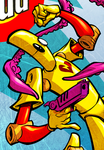 SCUD 20TH ANNIVERSARY colors (detail) by pop-monkey