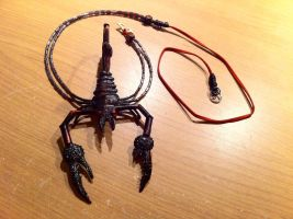 Scorpion Pendant Necklace by MattOfSteel
