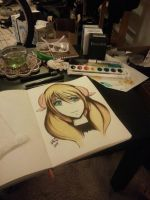 New Drawing for my Vid WIP Final by WonSubok