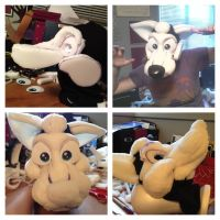 Fursuit Head WIP by SweeneyxLovett4ever