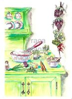 In the Kitchen 3 by jolabrodnica