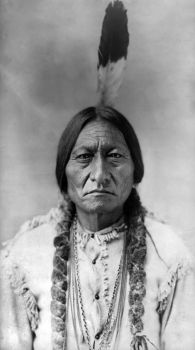 sitting bull by LockMeUpInside