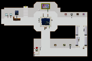 Ib map: Gallery Second Floor by WhatTheAwesomeIsThis