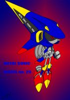 Metal Sonic Model no. 29 by EUAN-THE-ECHIDHOG