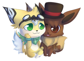 Toby x Maude  [Commission] by Seoxys6