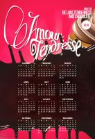 Love, tenderness and chocolate ! 2014 Calendar by L-Art-chitecte