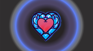 Zelda Heart Container by taewon26