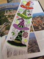 Witchy headgears - Bookmark by KrianaDesign