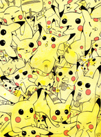 Pika Pile by colormymemory