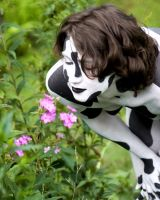 Cowgirl and Flowers by BareBeautyBodypaint