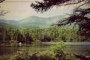 First View of Katahdin by jltrafton