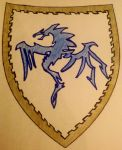 Blue Dragon Shield by BlueDragonOfTheEast3