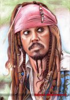 Captain Jack Sparrow by Spomo-U