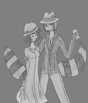 Bloody and Milly: 1930's by NickyVendetta