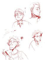 Sherlock: Face studies by Lascaux