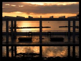 sunset_symetry by tomasNY