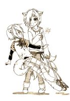 twins_rae n ruu_4rensuri by hieihirai