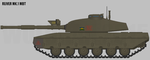 Reiver Mk.1 MBT by Wolohan2011