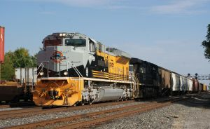 UP Rio Grande Heritage on NS by JamesT4