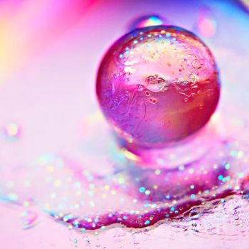 Pink glitter by EliseEnchanted