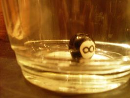 Don't Get Behind The Eight Ball by AudraMBlackburnsArt