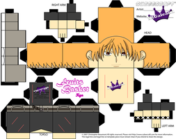 Kyo cubeecraft from Fruits Basket by SKGaleana