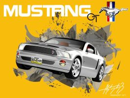 Mustang GT by E-drian