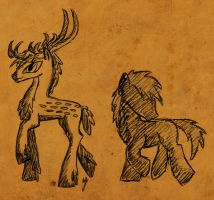 WTWE Races: Deer by QuirkyWallace