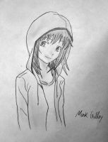 The Hooded Girl - Mark Crilley by D0mari
