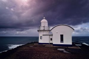 Tacking Point Lighthouse by bigbear74