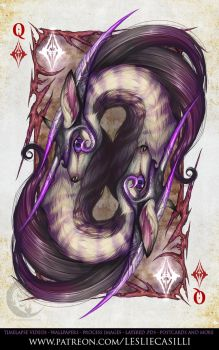 Savage Majesty: Queen of Diamonds by Enchantress-LeLe