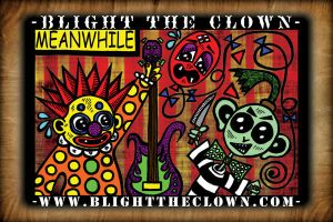 Blight the Clown Postcard Face by BlightProductions